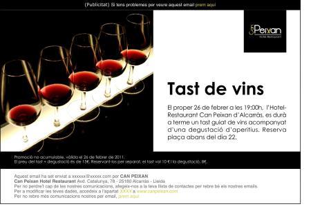A33 Tast de vins EMAILING
